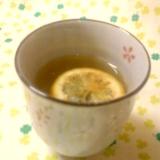 ☆風邪に効果アリかも☆蜂蜜漬けレモン緑茶☆*:・☆