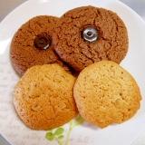 簡単HMで☆胡桃&チョコクッキー☆