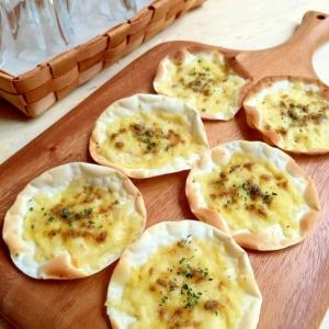 3分で簡単おつまみ!チーズカレーチップス