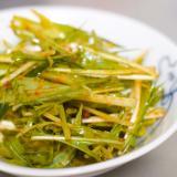 ☆食べるラー油で☆水菜&きゅうりのピリ辛サラダ