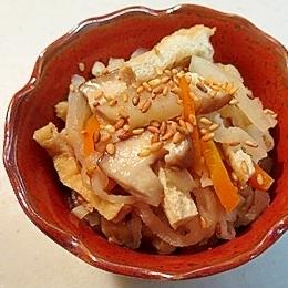 節約レシピ!大根と切干大根の煮物