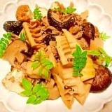 孟宗筍と椎茸の☆煮物