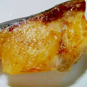 ブリのポン酢焼き