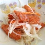野菜たっぷり鮭南蛮漬け風