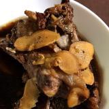 スペアリブの生姜煮