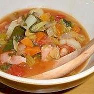 野菜の美味しさいっぱいのミネストローネ