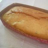 バナナとプルーンのパウンドケーキ