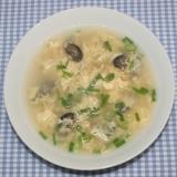 簡単☆食品乾燥機☆乾燥ナマコで卵スープ