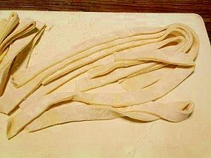 長く伸びる☆ほうとう麺