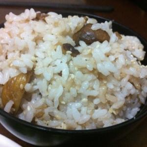 しょうゆ麹で☆ふっくら栗ご飯