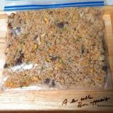 余った炒飯をパラパラに冷凍する方法