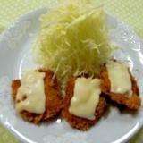 チーズのせミニカツ