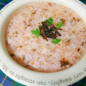 梅と昆布の雑炊