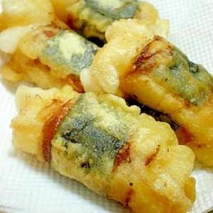 ☆お餅のベーコン海苔巻き天☆