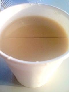 豆乳黒糖カフェオレ