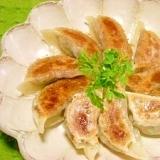 減塩☆サバ缶餃子