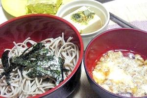 おろし納豆蕎麦