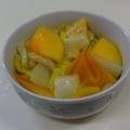 柿と白菜のマリネ