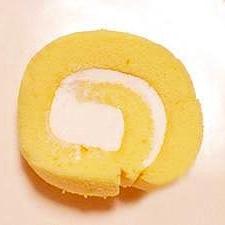 チーズクリームのロールケーキ