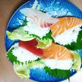 寿司のレタス巻き