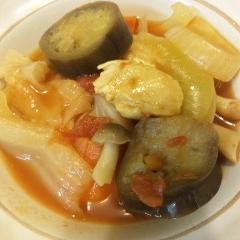 野菜たっぷり簡単トマト煮込み