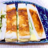 簡単・時短・夕飯の1品☆はんぺんの挟み焼き