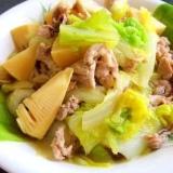 白菜と豚肉❤オイスターソース煮~