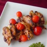 鶏むね肉とトマトのバジルソテー