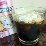 ☆香り高く♪ アイスウインナーコーヒー☆