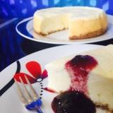 炊飯器で本格チーズケーキ☆