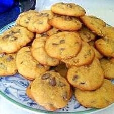 とってもアメリカンスタイルのチョコチップクッキー