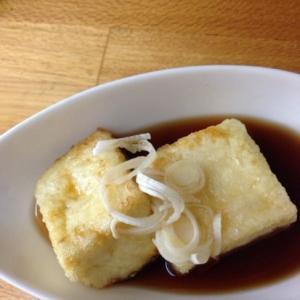 簡単すぎる揚げ出し豆腐