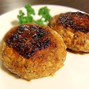 ダイエットにどうぞ★大葉香る豆腐ハンバーグ