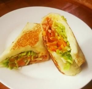 食パンで簡単!ケバブトルティーヤ風ロール