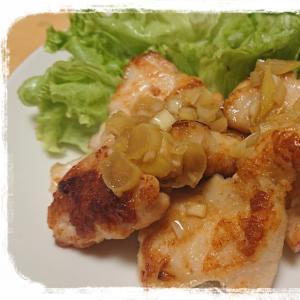 簡単節約☆鶏むね肉で油淋鶏風