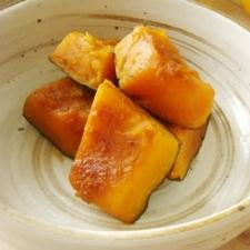 いつもの味でほっこり♪かぼちゃの煮物