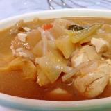☆豆腐と野菜のホロホロ味噌煮込み