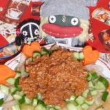 挽き肉あんのトトリ冷麺