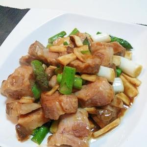 お肉の旨味が味わえます☆豚肉の黒胡椒炒め