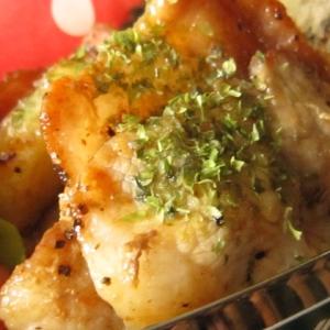 お弁当おかず★ジャガイモと豚バラ炒め お好み焼き味