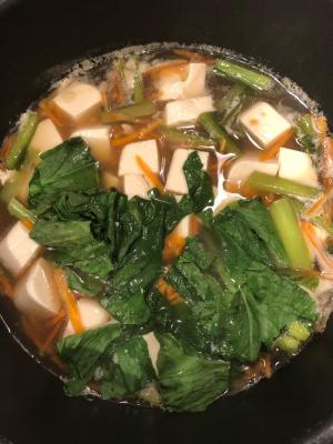 栄養満点スープ