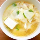 豆腐と大根の味噌汁♪