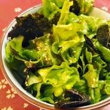 焼き海苔サラダ