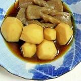 甘~いよ♪里芋とこんにゃくの味噌煮