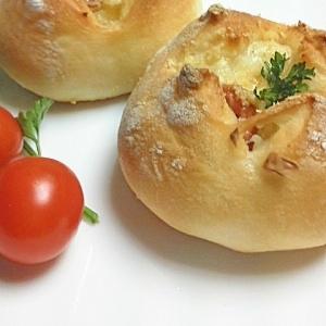 ジャガイモを包んだパン♪(HB生地)