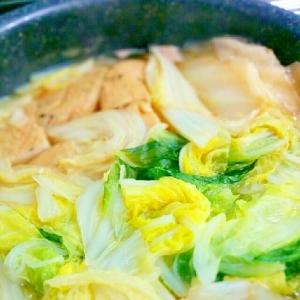 簡単♪タップリ白菜とがんもどきの煮込み
