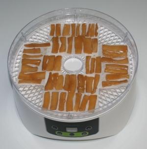 簡単☆おつまみ☆食品乾燥機でドライメンマ