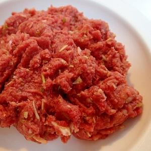 愛犬用 ❤かぼすと大蒜入り 馬肉と野菜の生ごはん❤