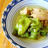 鶏肉と福耳のさっぱり煮