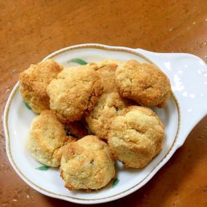 バター香る♡チョコinおからクッキー